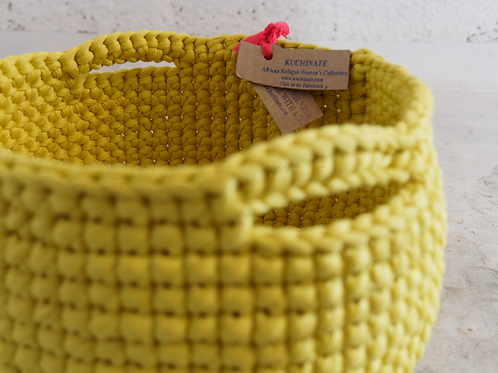 Crochet Medium Basket Semay