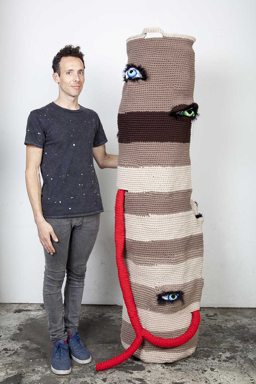 gil yefman artist israel crochet