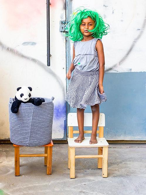 Crochet Large Basket Eden