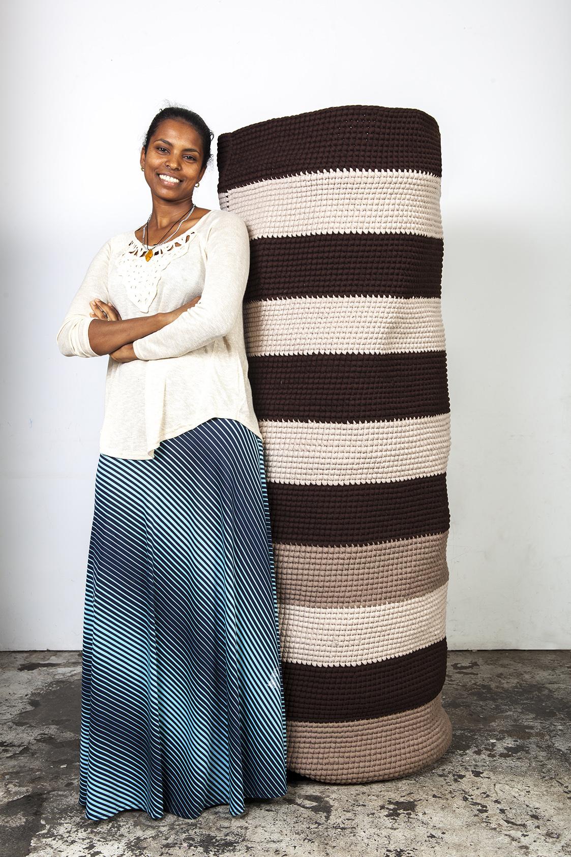 model eritrea art crochet