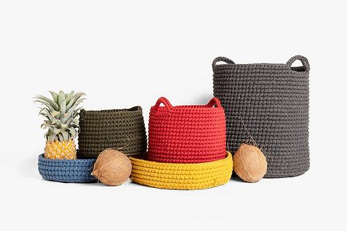Crochet Medium Basket Eden