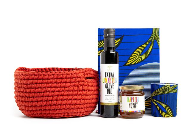 Honey and Wine New Year Gift