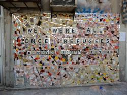Refugees Mosaic Art African Women