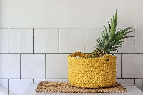 Crochet Small Basket Kokob 3 (handles)