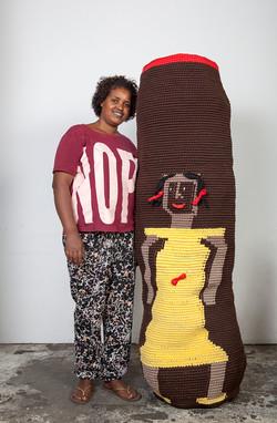 crochet art exhibition