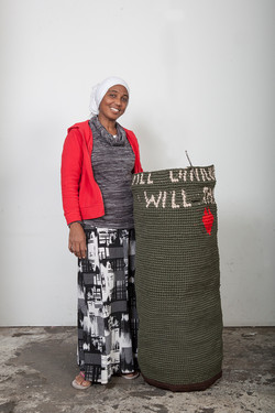 refugee women art africa