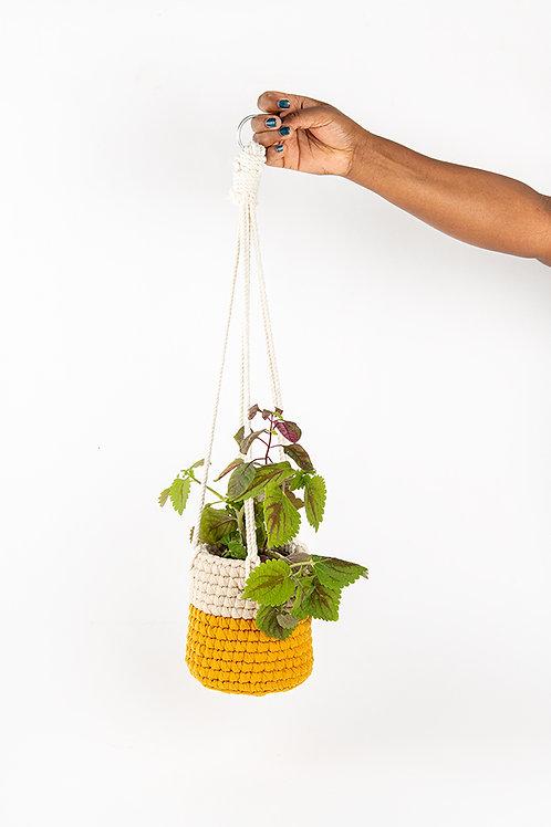 Crochet Small Plant Holder Jeruz