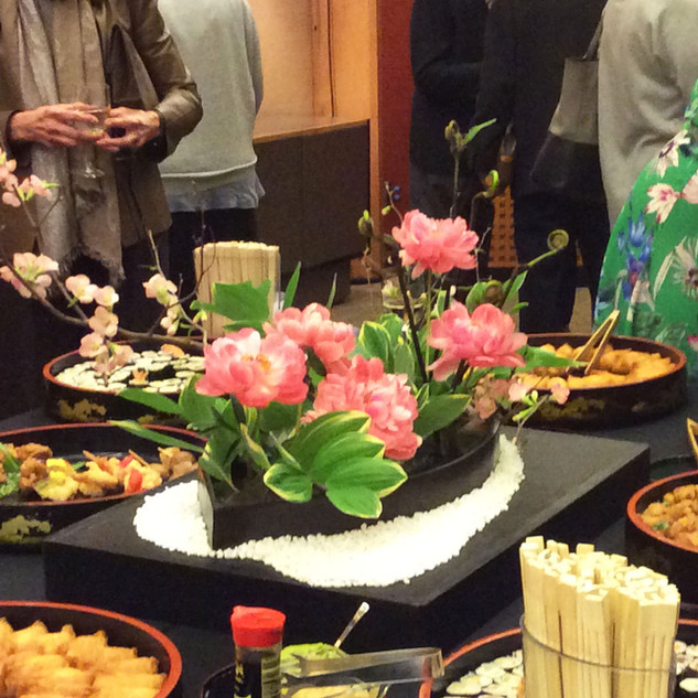 Tohaku Hasegawa Reception Flower