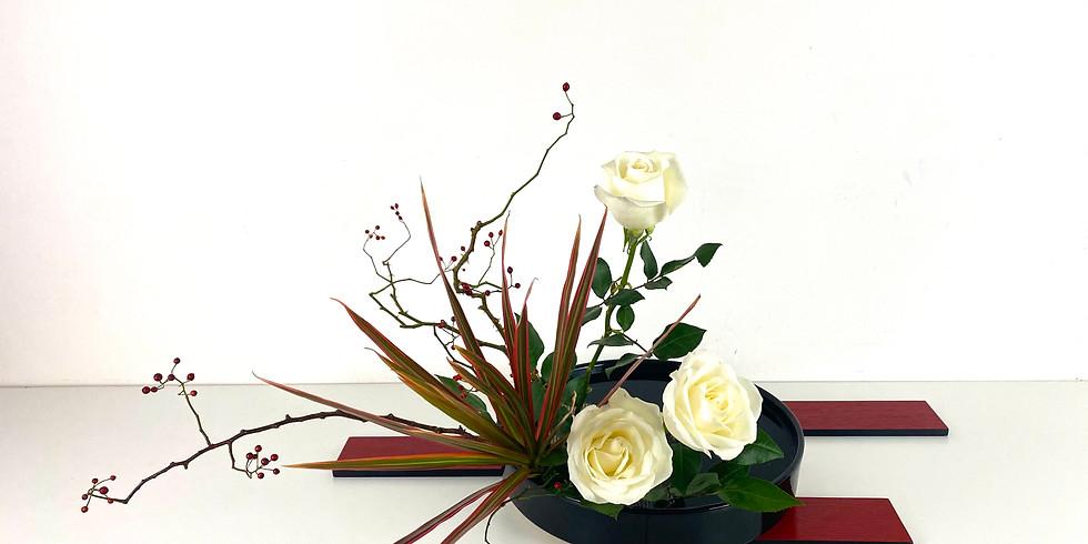 Ohara School of Ikebana NY Chapter ZOOM Holiday Event 12/10 4-6PM&7-9PM