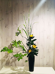 Japanese Ikebana New York Floral arrangement Ohara School of Ikeban HANADOJO