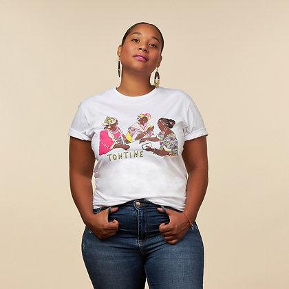 """T-shirt """"Tontine"""" - coton bio"""
