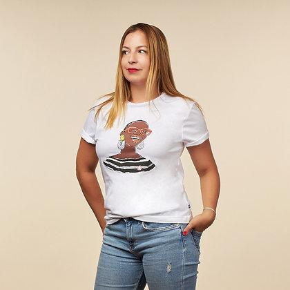 "T-shirt ""Aude-Marine"" - coton bio"