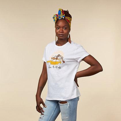"""T-shirt """"Wear the World"""" - coton bio"""