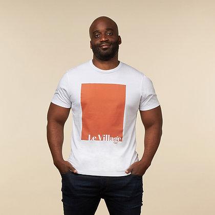 """T-shirt """"Le Village"""" - coton bio"""