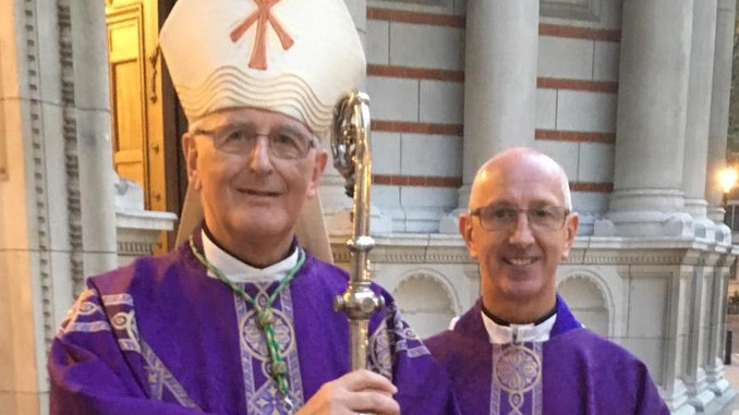 Bishop Tom Burns Retires