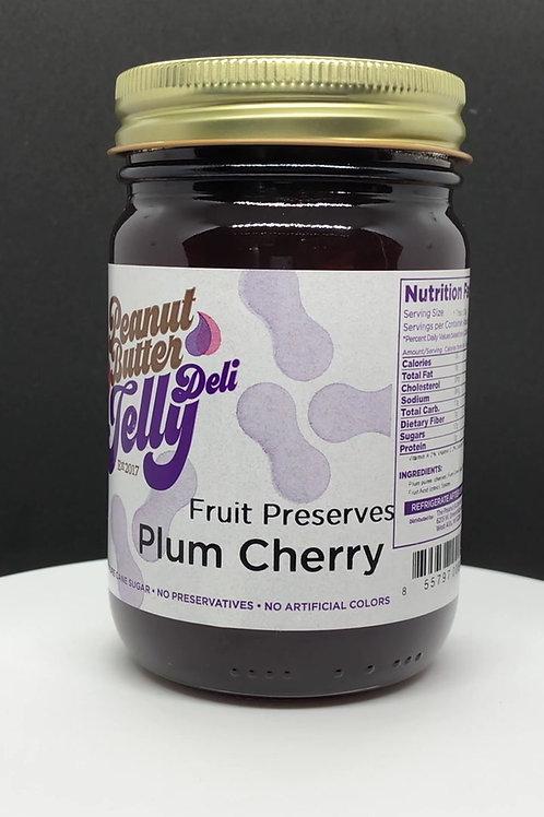 Plum Cherry Jam 16 oz Jar