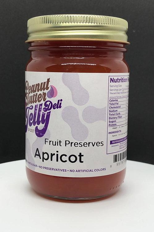 Apricot Jam 16 oz Jar