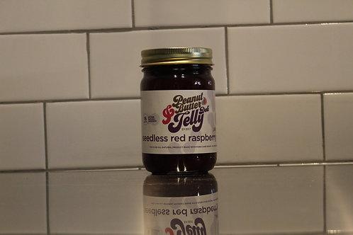 Seedless Red Raspberry Jam 16 oz Jar