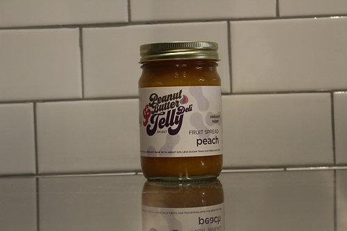 Peach Reduced Sugar Fruit Spread 15 oz Jar
