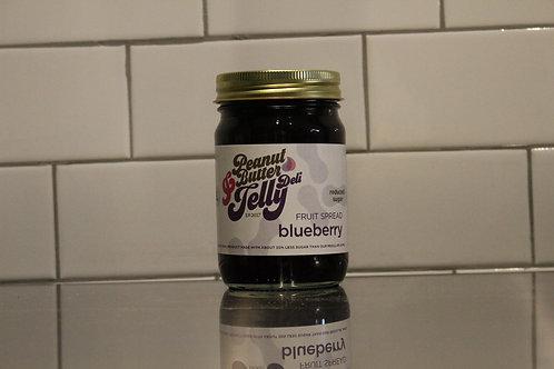 Blueberry Reduced Sugar Fruit Spread 15 oz Jar