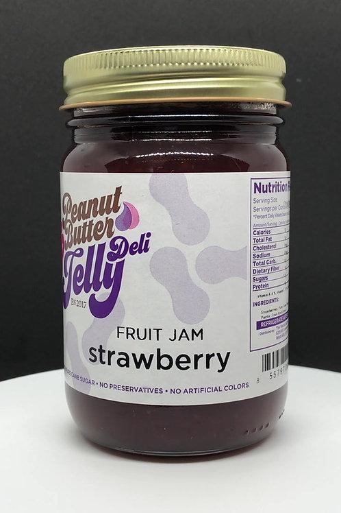 Strawberry Jam 16 oz Jar