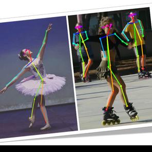 AI Dance based on Human Pose Estimation