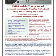 EMDR and Transpersonal weekend hosted by Mark Brayne and Annie Lloyd
