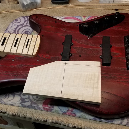 Making and installing a ramp on your bass (and why you    should consider it)
