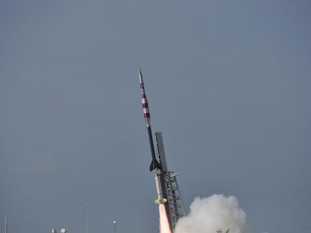 Mars Parachute Test: Rocket Launch from NASA of Wallops