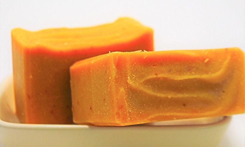 Papaya, Strawberry & Cream