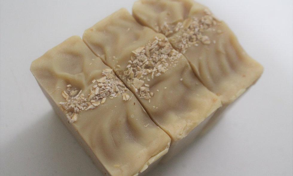 Oatmeal Milk and Honey Soap Bar