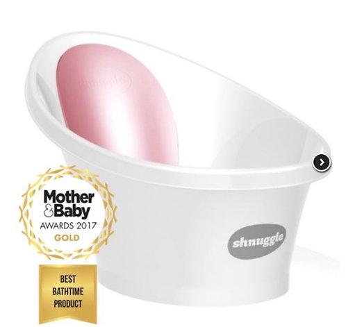 Vaschetta con schienale rosa - Shnuggle