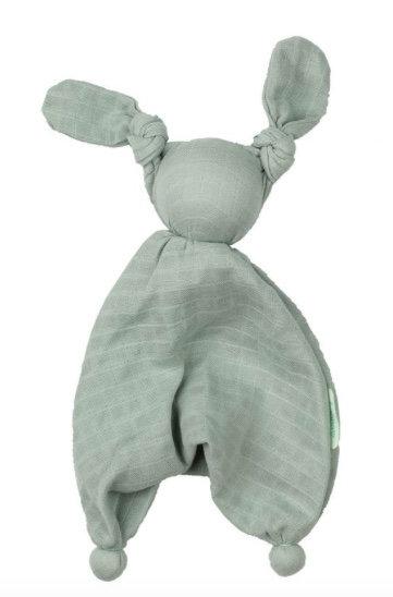 Mussola Doudou floppy verde - Babylonia