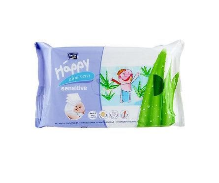 Salviette sensitive Aloe Vera 56 pz - Bella Baby