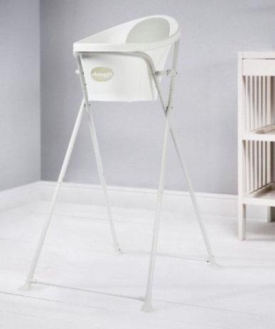 Supporto bianco pieghevole per vaschetta - Shnuggle