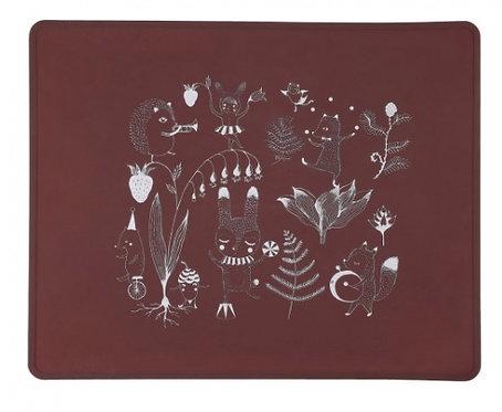 TOVAGLIETTA  54,5x54,5 cm CRIMSON RED - Lille Vilde