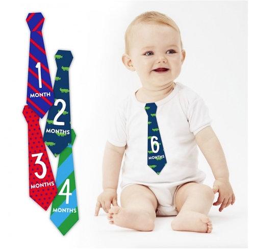 Cravatte adesivo primo anno - Pearhead