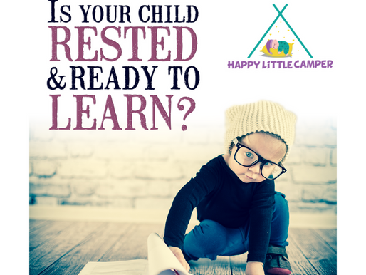 Is your child rested and ready to learn?