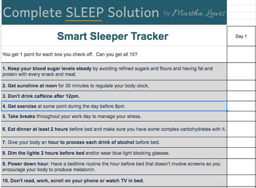 10 essential daily activities (+ 5 bonuses) to sleep better at night