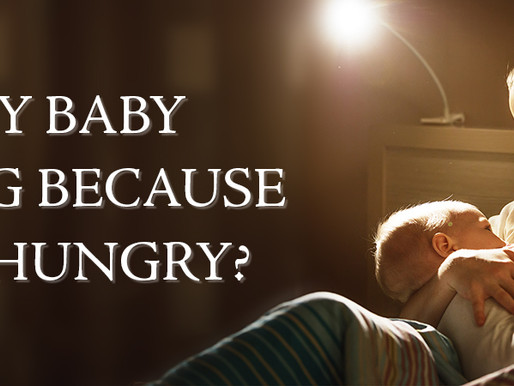 6 ways to tell if your baby is waking from hunger