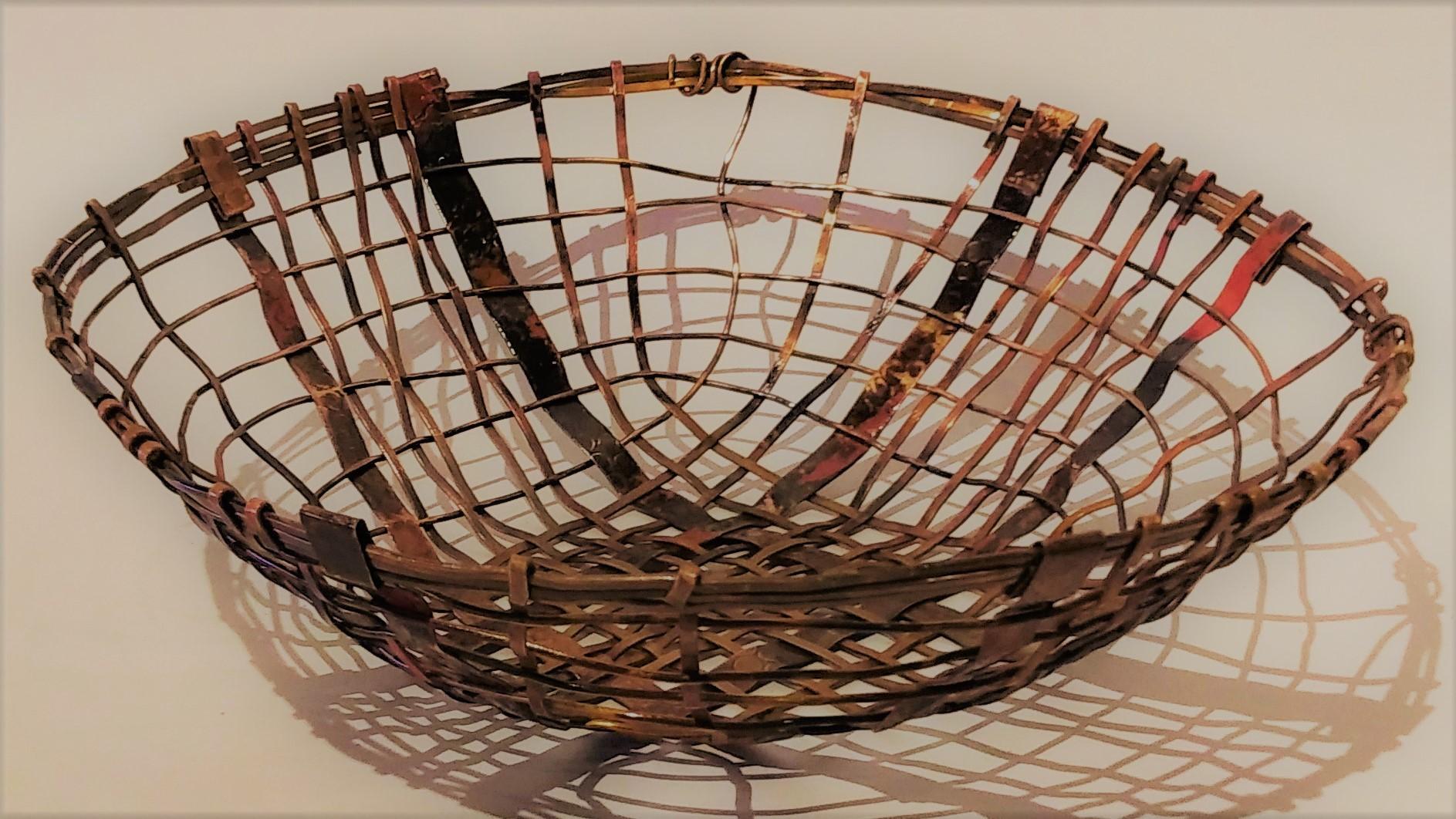 Woven Round Basket