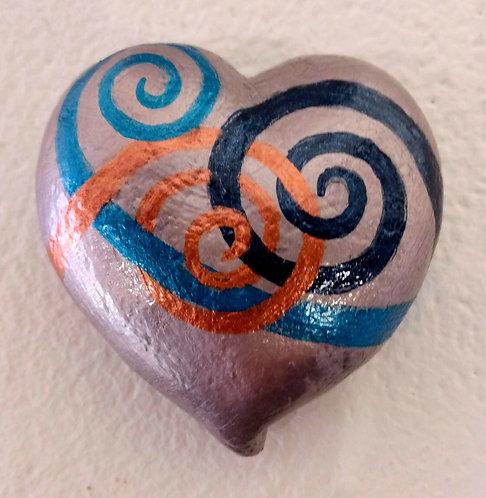 Rose Pearl Heart