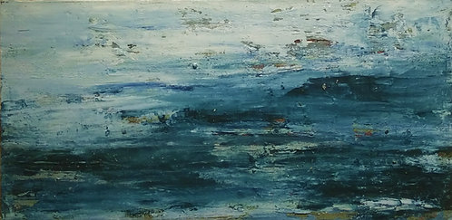 Ocean Horizon-Oil on Canvas