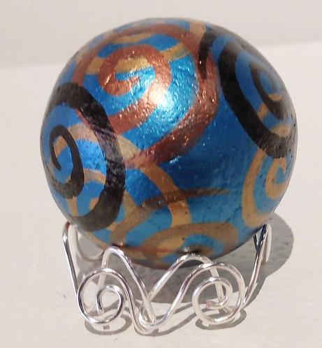 Artful Fidget in Blue