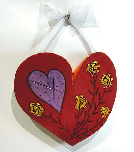 Heart & Roses Heart