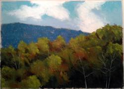 Autumn Onset In Hills