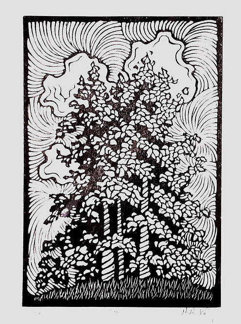 Grove 7/52-Linocut