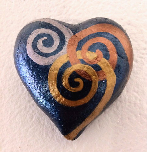 Deep Blue Heart