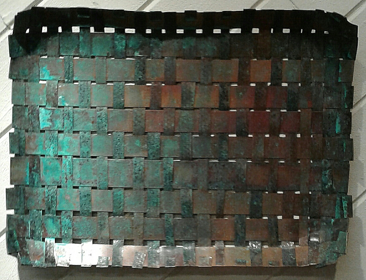 Copper Wall Tray-Sold