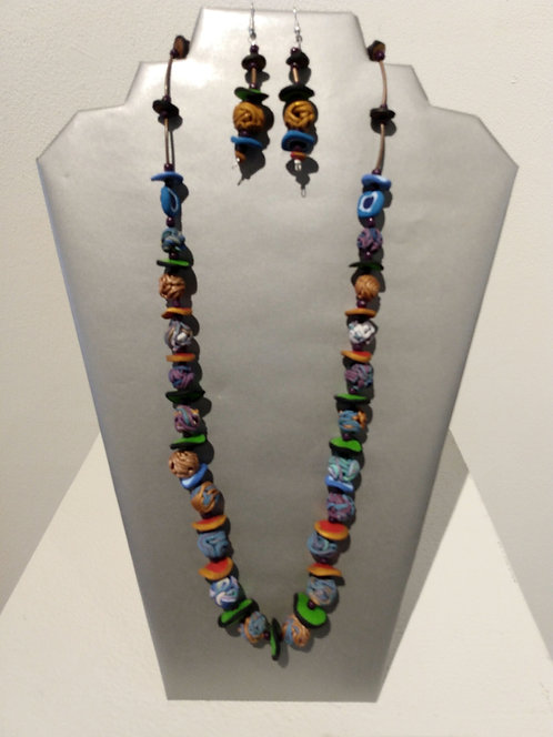 Jewelry Set Beads and Disks